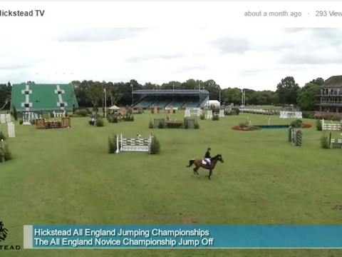 The All England Novice Championship - jump-off