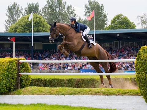 Harriet Nuttall's round in the 2016 Hickstead Derby