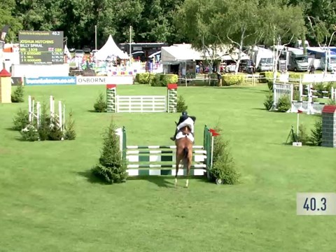 The British Five Year Old Jumping Championship 2017