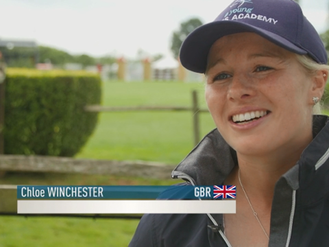 Chloe Winchester talking about the Bunn Leisure Speed Derby