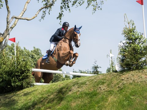 Can William Funnell set a new Hickstead Derby record?