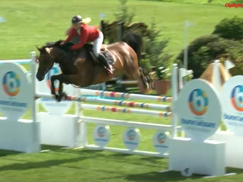 Hannah Tiley & Capistelle JX win The Harcour Hickstead All England 1.10m Amateur Championship