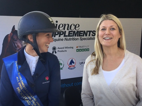 Winning interview with Harriet Nuttall